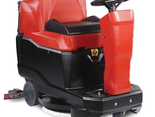 Klenco Lava RX2 Ride On Scrubber - Mesin scrubber