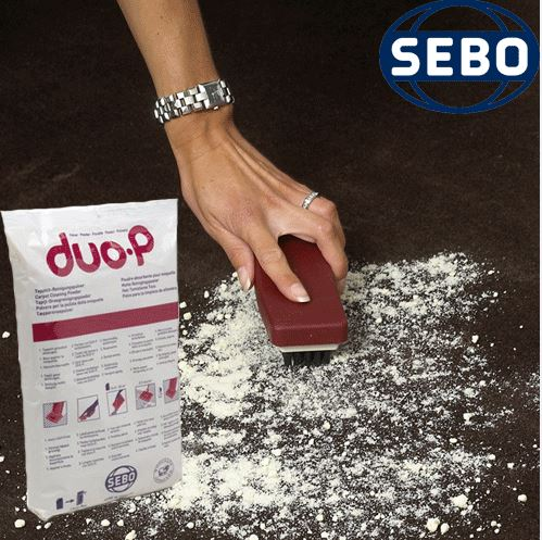 Sebo Duo Powder - Dry Carpet Cleaning