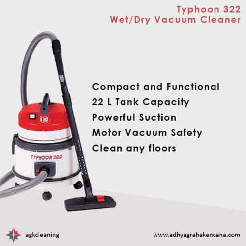 Dry Vacuum Cleaner - Wet Dry Vacuum Cleaner - Typhoon SM120 dan Typhoon 322 (2)