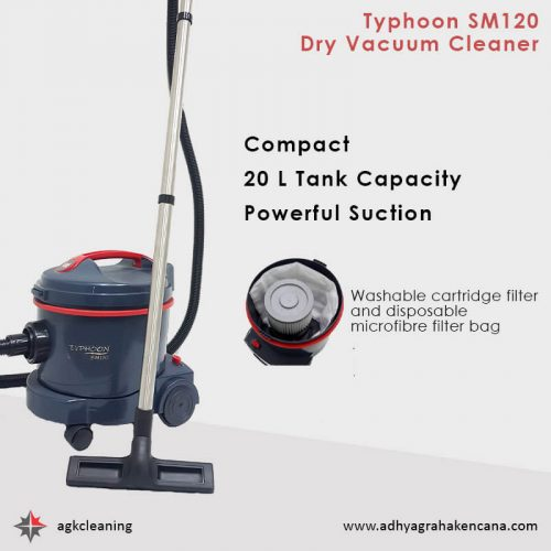 Dry Vacuum Cleaner - Wet Dry Vacuum Cleaner - Typhoon SM120 dan Typhoon 322 (3)