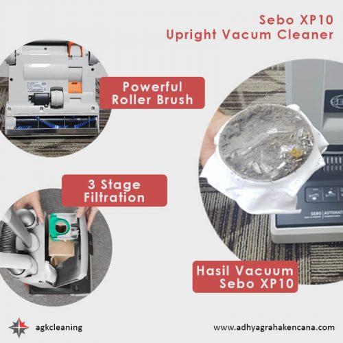 Sebo XP10 Upright Vacuum Cleaner - Jual Vacuum Cleaner 3