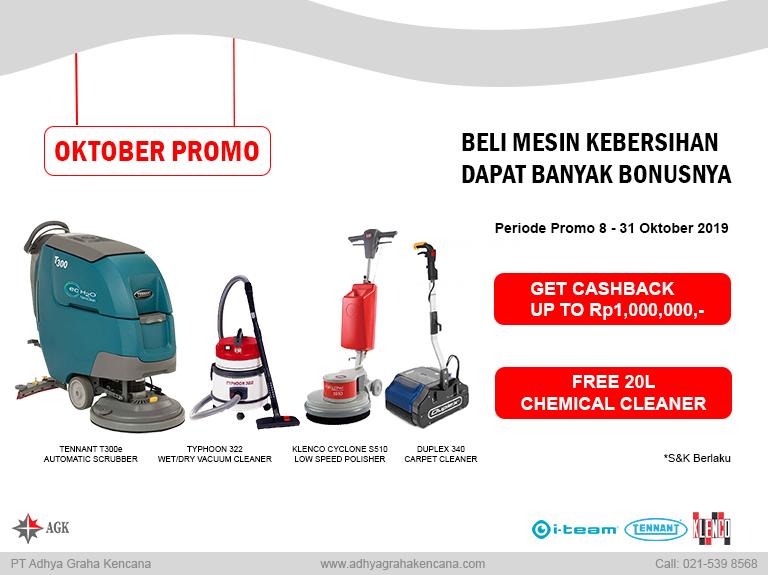 Adhya Graha Kencana Promo mesin cleaning equimpment