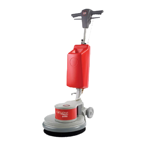 <span style='color:#000;font-size:18px;font-weight:700;'>CYCLONE S380</span><br><span style='color:#000;font-size:14px !important;font-weight:400!important;'>Single Disc Machine (38KG)</span>