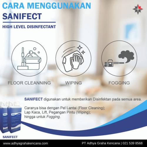 Sanifect Disinfectant - Cairan Disinfektan - AGK 2