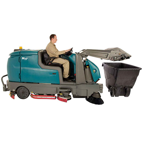 <span style='color:#000;font-size:18px;font-weight:700;'>TENNANT M17</span><br><span style='color:#000;font-size:14px !important;font-weight:400!important;'>Industrial Ride On Scrubber Sweeper</span>