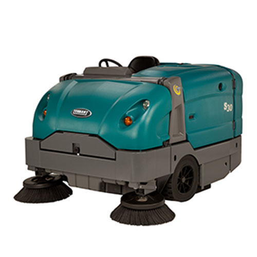 <span style='color:#000;font-size:18px;font-weight:700;'>TENNANT S30</span><br><span style='color:#000;font-size:14px !important;font-weight:400!important;'>Industrial Ride On Sweeper</span>