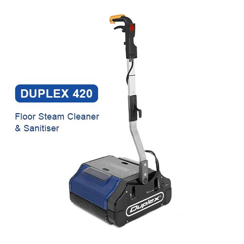 Duplex 420 Floor Steam Cleaner & Sanitiser 500x500