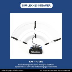 Duplex 420 Steam - Carpet Cleaner - Disinfectant - AGK - 5