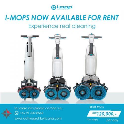 i-mop xl scrubber - i-mop lite i-mop scrubber rent - adhya graha kencana a