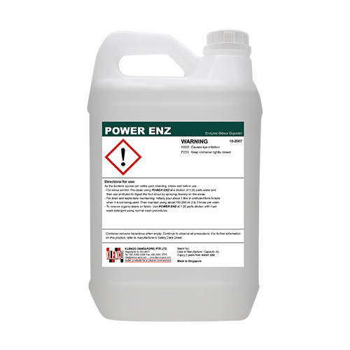 <span style='color:#000;font-size:18px;font-weight:700;'>KLENCO &#8211; POWER ENZYME</span><br><span style='color:#000;font-size:14px !important;font-weight:400!important;'>Enzyme Odor Dygester</span>